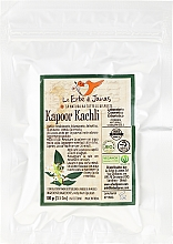 Парфюмерия и Козметика Натурален прах за коса от Капур качли - Le Erbe Di Janas Kapoor Kachli Powder