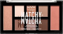 Парфюмерия и Козметика Палитра за грим - NYX Professional Makeup Matchy Matchy Palette