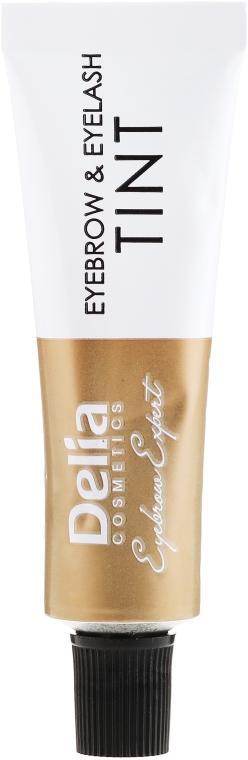 Гел-боя за вежди, тъмно кафява - Delia Eyebrow Tint Gel ProColor 3.0 Dark Brown — снимка N4