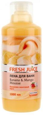 Пяна за вана с аромат на бананов и манго мус - Fresh Juice Banana and Mango Mousse