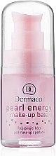 Парфюмерия и Козметика Перлена основа за грим - Dermacol Make-Up База Перлена Енергия