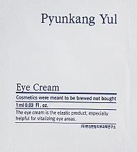 Подхранващ и възстановяващ крем за околоочния контур с есктракт от астрагал и натурални масла - Pyunkang Yul Eye Cream — снимка N5