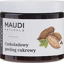 Парфюми, Парфюмерия, козметика Шоколадов захарен скраб за тяло - Maudi