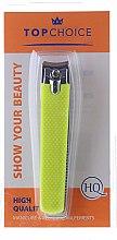 Парфюмерия и Козметика Нокторезачка 76954, L, жълта - Top Choice Colours Nail Clippers