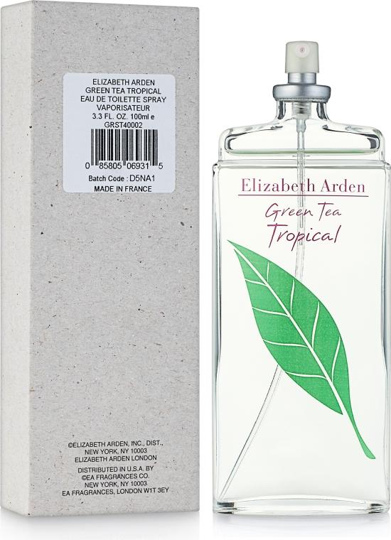Elizabeth Arden Green Tea Tropical - Тоалетна вода (тестер без капачка)  — снимка N2