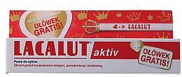 Парфюми, Парфюмерия, козметика Комплект - Lacalut Aktiv (t/paste/75ml + pensil)