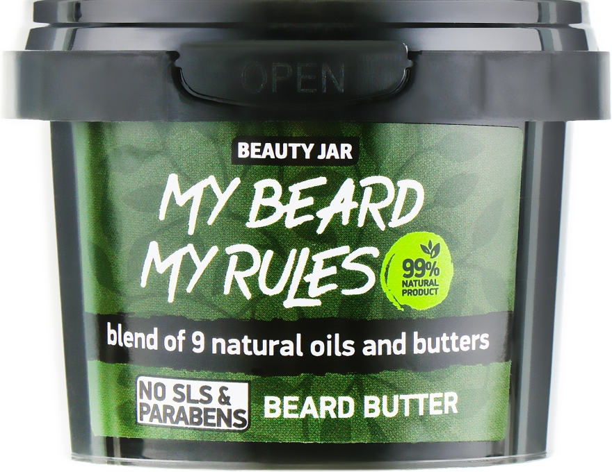 Масло за брада - Beauty Jar My Beard My Rules Beard Butter