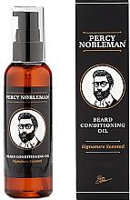 Парфюмерия и Козметика Парфюмно масло за брада - Percy Nobleman Signature Beard Oil Scented
