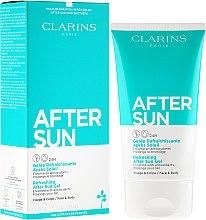 Парфюми, Парфюмерия, козметика Освежаващ гел след слънце за лице и тяло - Clarins Refreshing After Sun Gel 24H