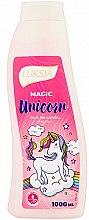 """Парфюмерия и Козметика Пяна за вана """"Вълшебен еднорог"""" - Luksja Magic Unicorn Bath Foam"""