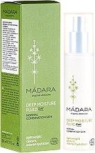 Парфюмерия и Козметика Крем-флуид за дълбоко овлажняване на кожата на лицето - Madara Cosmetics EcoFace