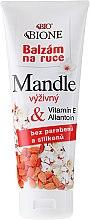 Парфюмерия и Козметика Крем за ръце - Bione Cosmetics Mandle Cream