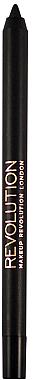 Контуриращ молив за очи - Makeup Revolution HD Pro Smoky Waterproof Eyeliner — снимка N3