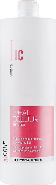 Шампоан за запазване на цвета на боядисана коса - Kosswell Professional Innove Ideal Color Shampoo — снимка N3