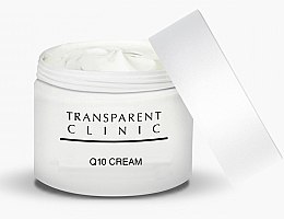 Парфюмерия и Козметика Хидратиращ крем за лице против свободни радикали - Transparent Clinic Crema Q10