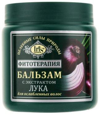Балсам за отслабена коса с екстракт от лук - Iris Cosmetic — снимка N1