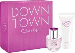 Парфюми, Парфюмерия, козметика Calvin Klein Downtown - Комплект (edp 50ml + b/los 100ml)