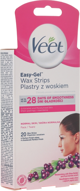 Лентички кола маска за лице - Veet Wax Strips for Face