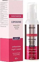 Парфюми, Парфюмерия, козметика Нощен крем против стареене с укрепваща формула - BingoSpa Liposome Antiwrinkle Night Cream 40+
