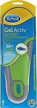 Парфюмерия и Козметика Комфортни стелки за обувки - Scholl Gel Activ Insole Sport Men