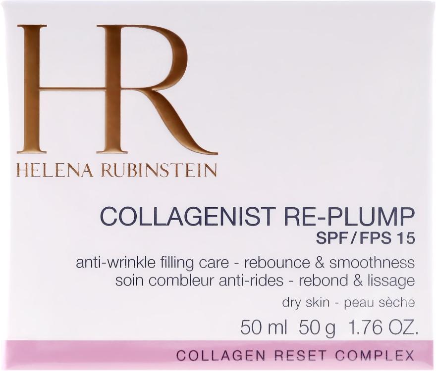 Крем за суха кожа против стареене - Helena Rubinstein Collagenist Re-Plump SPF 15 — снимка N2