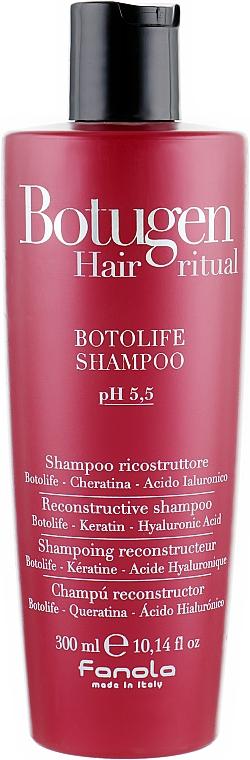 Шампоан за реконструкция на косата - Fanola Botugen Botolife Shampoo
