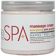 "Парфюми, Парфюмерия, козметика Масажен крем ""Грейпфрут"" - BCL SPA Energizing Pink Grapefruit Massage Cream"