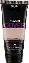 Парфюмерия и Козметика Фон дьо тен с минерали - Ingrid Cosmetics Mineral Cover Make Up Foundation