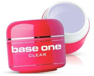Гел за нокти, безцветен - Silcare Base One Clear