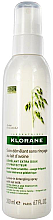 Парфюми, Парфюмерия, козметика Спрей за коса за лено разресване - Klorane Leave-In Detangling Spray With Oat Milk
