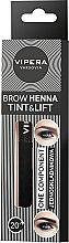 Парфюмерия и Козметика Къна за вежди - Vipera Tint&Lift Brow Henna