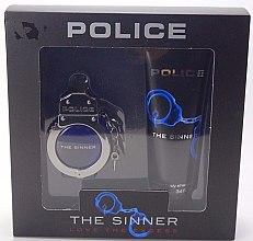 Парфюмерия и Козметика Police The Sinner Love The Excess Man - Комплект (тоал. вода/30ml + душ гел/100ml)