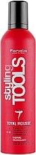 Парфюми, Парфюмерия, козметика Мус за коса с екстра силна фиксация - Fanola STools Total Mousse Extra Strong Hair Mousse