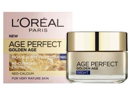 Парфюми, Парфюмерия, козметика Нощен крем - L'Oreal Paris Age Perfect Golden Age Night Cream