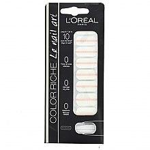Парфюмерия и Козметика Стикери за нокти - L'Oreal Paris Stickers Color Riche Le Nail Art