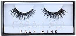 Парфюмерия и Козметика Изкуствени мигли №12 - Huda Beauty Faux Mink Lash 12