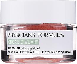 Парфюмерия и Козметика Скраб за устни с розово масло - Physicians Formula Organic Wear Organic Rose Oil Lip Polish Rose