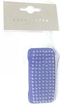 Парфюмерия и Козметика Четка за нокти, синя - Acca Kappa 2-Sided Nail Brush Nylon Bristles