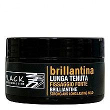Парфюмерия и Козметика Восък за коса - Black Professional Line Brilliantine Strong And Long Lasting Hold