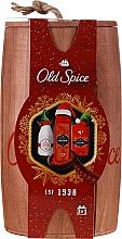 Парфюмерия и Козметика Комплект - Old Spice Captain Wooden (део/50g + душ гел/250ml + афтър. лосион/100ml)