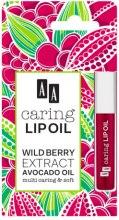 """Парфюми, Парфюмерия, козметика Козметично масло за устни """"Горска ягода"""" - AA Cosmetics Caring Lip Oil Wildberry"""