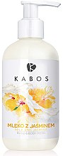 Парфюмерия и Козметика Освежаващ лосион за ръце и тяло с мляко и жасмин - Kabos Milk And Jasmine Hand & Body Fresh