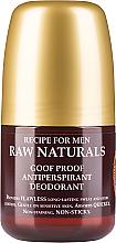 Парфюмерия и Козметика Дезодорант за мъже - Recipe For Men RAW Naturals Goof Proof Antitranspirant Deodorant