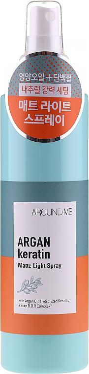 Спрей за коса - Around Me Argan Keratin Matte Light Spray