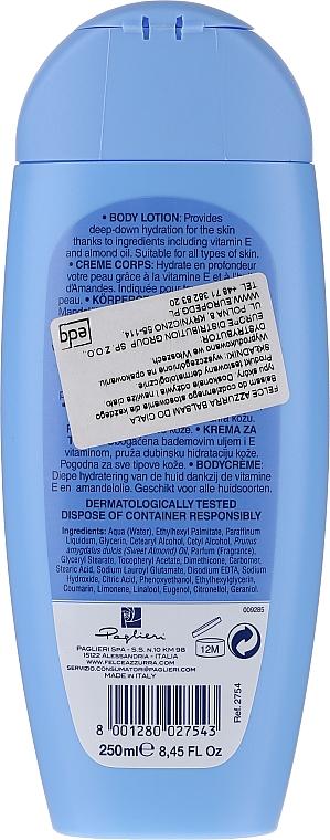 Лосион за тяло - Felce Azzurra Classic Body Lotion With Vitamin E & Almond — снимка N2