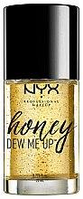 Парфюмерия и Козметика Основа за грим - NYX Professional Makeup Honey Dew Me Up Primer