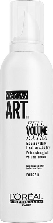 Мус за обем за супер силна фиксация - L'Oreal Professionnel Tecni.art Full Volume Extra — снимка N1