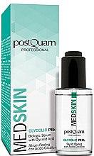Парфюмерия и Козметика Гликолов серум-пилинг за лице - PostQuam Med Skin Glycolic Peeling Serum