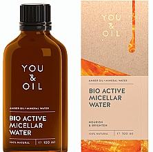 Парфюмерия и Козметика Мицеларна вода - You & Oil Amber. Bio Active Micellar Water