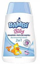 Парфюми, Парфюмерия, козметика Детски шампоан и душ гел 2в1 - Pollena Savona Bambi 2in1 Shampoo & Shower Gel